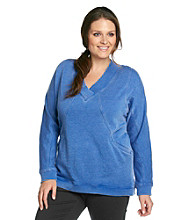 Calvin Klein Performance Plus Size Wide Neck Pull-Over Sweater
