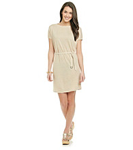 Kensie® Belted Sweater Dress