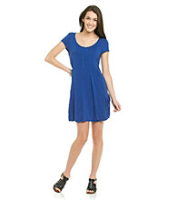 Kensie® Button Front Knit Dress