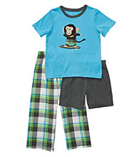 Carter's® Boys' 4-12 Turquoise 3-pc. Surf Monkey Pajama Set