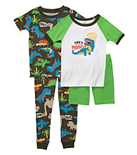 Carter's® Baby Boys' Green 4-pc. Dino Pajama Set