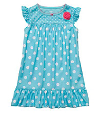 Carter's® Girls' 2T-4T Blue Polka Dot Sleep Gown