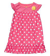 Carter's® Girls' 2T-4T Pink Polka-Dot Sleep Gown