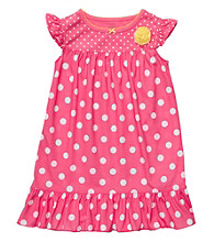 Carter's® Girls' 4-14 Pink Polka-Dot Sleep Gown