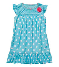 Carter's® Girls' 4-14 Blue Polka-Dot Sleep Gown