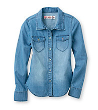 Squeeze® Girls' 7-16 Chambray Denim Top