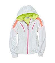 London Fog® Girls' 7-16 White Mesh Lined Jacket