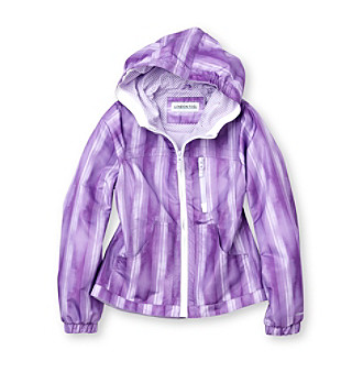 London Fog® Girls' 7-16 Ombre Mesh Lined Jacket