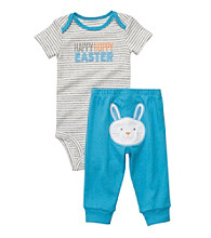 Carter's® Baby Boys' Blue/Gray 2-pc. Easter Set