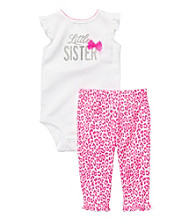 Carter's® Baby Girls' Pink/White 2-pc.