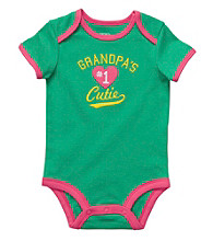 Carter's® Baby Girls' Green Grandpa's Cutie Bodysuit
