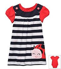 Carter's® Baby Girls' Navy/Red 2-pc. Ladybug Jumper Set
