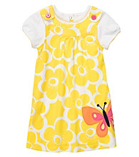 Carter's® Baby Girls' Yellow 2-pc. Butterfly Jumper Set