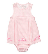 Carter's® Baby Girls' Pink Gingham Sunsuit