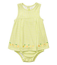 Carter's® Baby Girls' Green Gingham Sunsuit