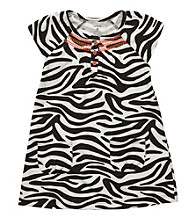 Carter's® Baby Girls' Animal Print Dress with Diaper Cover