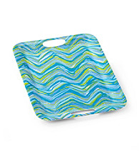 LivingQuarters Coastal Rectangular Serving Tray