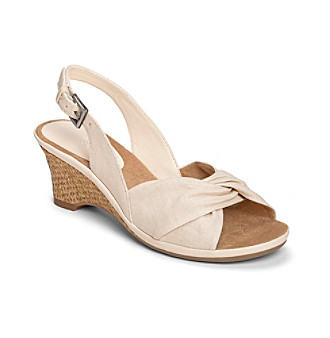 "Aerosoles® ""Zenthusiasm"" Slingback Wedge Sandals"