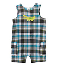 Carter's® Baby Boys' Blue Plaid Gator Sunsuit