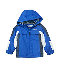 London Fog&Reg; Boys' 2T-20 Printed Colorblock Jacket