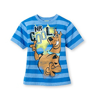 Scooby-Doo® Boys' 4-7 Blue Short Sleeve Mr. Cool Tee