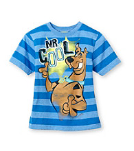 Scooby-Doo® Boys' 4-7 Blue Short Sleeve Mr. Cool Tee