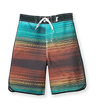 Mambo® Boys' 8-20 Rainbow Dolphin Hem Board Shorts