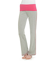 Sleep Riot™ Roll Top Knit Pants - Heather Grey