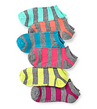 Steve Madden 6-pk. Fashion Socks - Thick Stripe