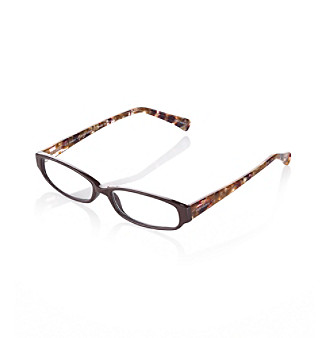 Café Reader® Vesper Handmade Zyl Reading Glasses - Brown
