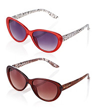 Steve Madden Funky Cat Eye Sunglasses
