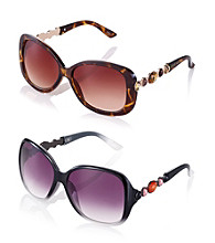 Steve Madden Oversized Glam Sunglasses