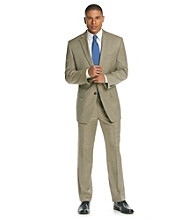 Calvin Klein Men's Tan Flat Front Suit Separates