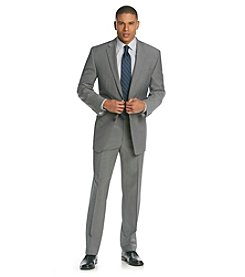 Calvin Klein Men's Grey Flat Front Suit Separates