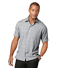 Van Heusen® Men's Solid Textured Dobby Woven Top