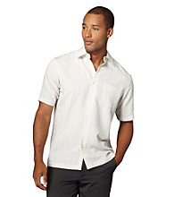 Van Heusen® Men's Striped Dobby Woven Top