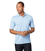 Van Heusen® Men's Fine Line Striped Polo