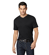Van Heusen® Men's Studio Interlock V-Neck Tee