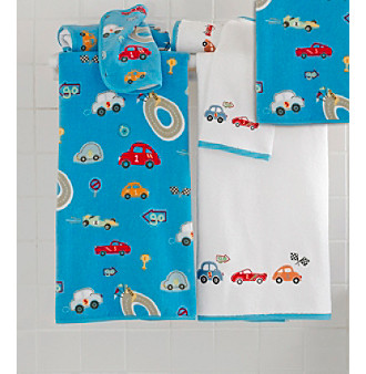 Kassatex Race Track Bath Towel Collection