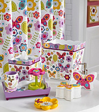 Kassatex Butterflies Bath Collection