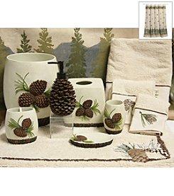 Bacova™ Pine Cone Branches Bath Collection