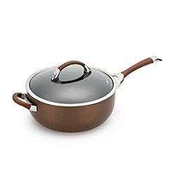 Circulon® Symmetry 6.5-qt. Chocolate Covered Chef Pan with Helper Handle