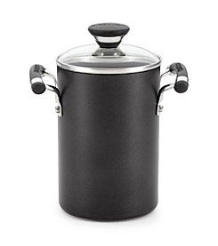 Circulon® Acclaim 3.5-qt. Black Covered Asparagus Pot with Steamer *