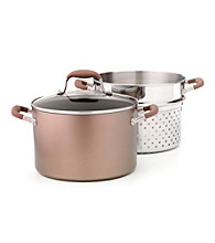 Anolon ® Advanced Bronze 7-qt. Covered Stockpot and Pasta Insert
