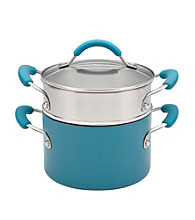 KitchenAid® Aluminum 3-qt. Peacock Covered Saucepot with Insert