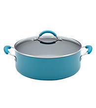 KitchenAid® Aluminum 7.5-qt. Peacock Wide Stockpot