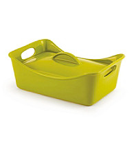 Rachael Ray® Stoneware 3.5-qt. Green Rectangle Casserole