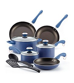 Paula Deen® 11-pc. Blueberry Nonstick Cookware Set + $30 Cash Back by Mail see offer details