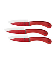 Paula Deen® Signature Cutlery 6-pc. Red Paring Set