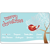 Gift Card - Merry Christmas - Partridge In a Tree